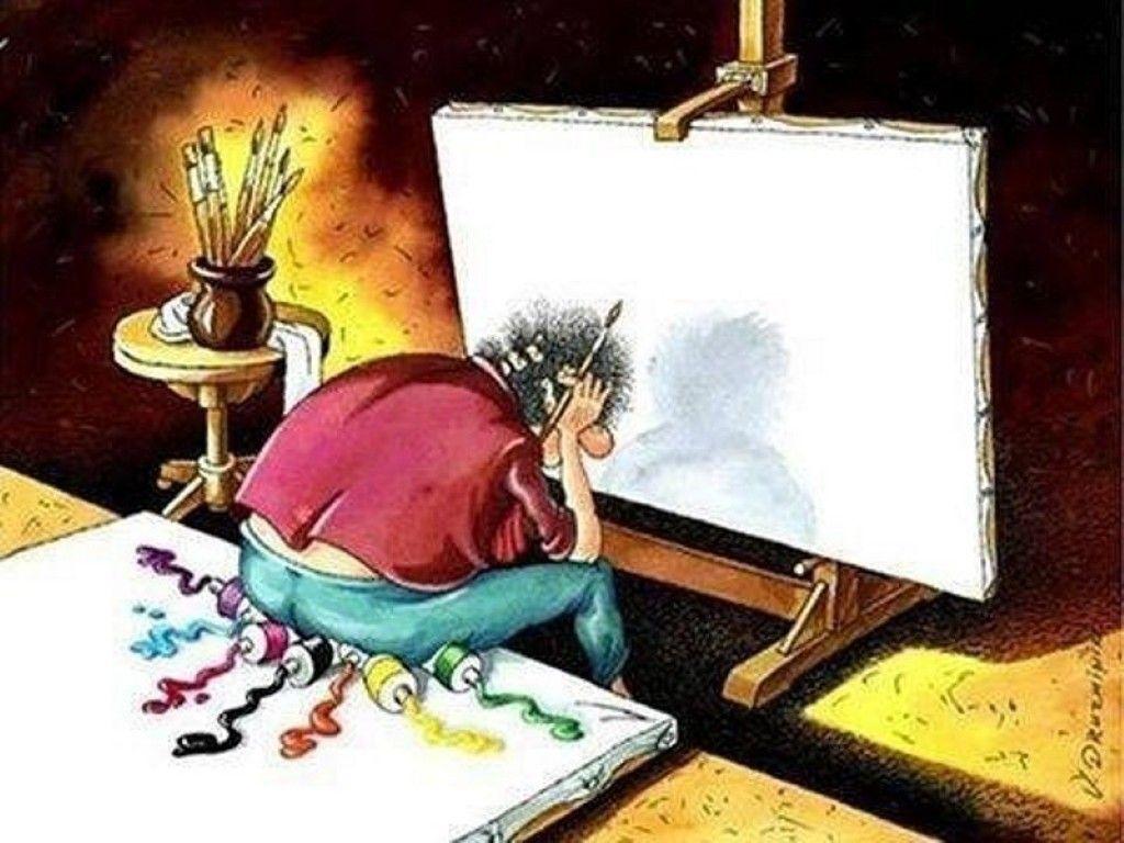 Анекдоты про художников, картины